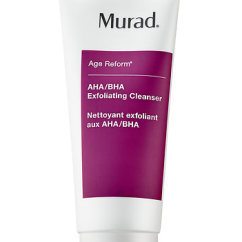 Murad AHA/BHA Exfoliating Cleanser - https://www.sephora.com/product/aha-bha-exfoliating-cleanser-P4010